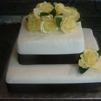 Bonner_Cake_004.jpg This is for a friend's wedding. My first real wedding cake.TFL
