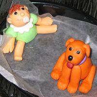 38Th - Fondant Figures Class Puppies & Babies Private Class