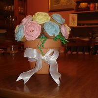 Mother's Day Bouquet This is a cupcake bouquet for my dear MIL. The cupcakes are orange chiffon with an orange creme buttercream icing. I just want to say a...