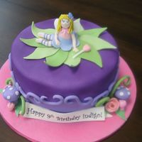 Fairy Cake For a 9 year old who loves fairies.