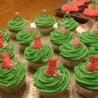 Bridal Shower Cupcakes The bride did not want cake for her shower so we did cupcakes instead. They are frosted with lime green and hot pink buttercream, and each...