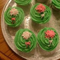 Bridal Shower Cupcakes The bride did not want a cake so we chose to do cupcakes instead for the shower. They are each individually covered with lime green or hot...