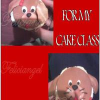 Puppy Cupcakes   I MADE THESE FOR MY CAKE CLASS