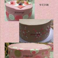 Jazzy's Babyshower Cake  I'm really happy with the way this one came out . A lil sad that I couldn't get a pic of it stacked but they loved it. Thanks for...