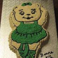 Ballerina Bear White cake with BC filling.