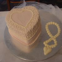"Cakes_011.jpg CSM. This idea was taken from Chef_Stef (she has some awesome cakes!). This was my giveaway cake for the bridal show. 6"" vanilla cake..."