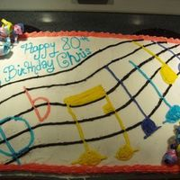 Music Cake thank you for looking.. Inspiration came from cakery