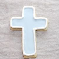 Baptism Cookies NFSC, Antonia's RIFavors for a boys baptism party