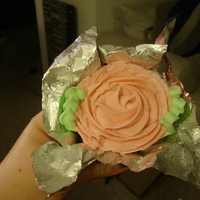 Rose Plant Cupcake Rose Cupcakes made to look like little potted plants