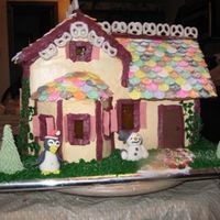 Gingerbread House everything on this gingerbread house was completely edible. I put a lot of time and thought into this one. Thanks for looking!