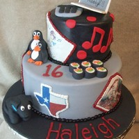 Emo Cake  This is the Emo cake finally! Thanks CC'ers for all you help and suggestions! The pictures are edible images mounted on fondant. I...