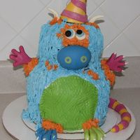 Monster Inspired by the Confetti cakes monster. Unfortunately, the book isn't out yet, so I had to wing it.