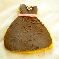 Dress Cookie I made these for my son's teachers. NFSC with Choc. MMF TFL!Jen...