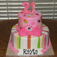 Kayla's Birthday Cake