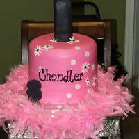 Nail Polish Bottle Birthday Cake