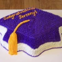 Graduation Cap   I get soooo many orders for this pan. People order this as a centerpiece with sheet cakes to serve. All b/c