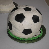 Soccerball I tried to make a full size soccer ball. My dowels slipped in the bottom layer and it started to collapse. I think they were a little...