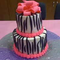 Zebra Stripes Made this for a fellow teacher's 40th birthday, but it could be used for numerous occasions. The zebra stripes were so easy to do,...