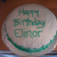 Plain Old Cake This was done for a friends aunt. She wanted something plain and simple. Thats what I gave her.