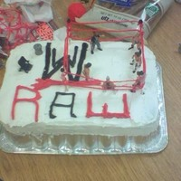 Wrestling Made this cake for another one of my students for his birthday....he liked wrestling :)