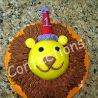 Lion Birthday Cake  This is Wilton's design from their website. I made it for a friend's little boy who is turning one. It was a lot of fun to make,...