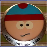 Cartman Cake   last minute cake i made for my brother. =)
