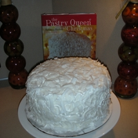 "Pastry Queen Coconut Cake  Made last year had to add this to pay homage to what a great recipe that I made from this book by Rebecca Rather called, ""The Pastry..."