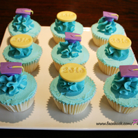 Preschool Graduation Cupcakes Preschool Graduation cupcakes, iced in buttercream with fondant decorations. Thanks for looking!