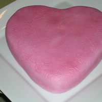 Valentine's For Mil I made this cake for my mother in law. she gave me this heart pan, so I thanked her by baking a cake! Cake #5!