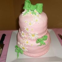 Baby Cake Needs Spanx   Baby shower cake. I'm ordering Sharon's flawless fondant dvd.
