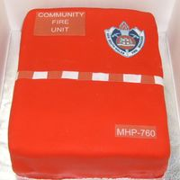 Nsw Fire Brigades This was a cake to celebrate a project kick off for volunteers in rural areas which are called Community Fire Units. Everyone loved it!!