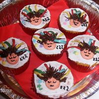 Sleep Study Cupcakes If anyone has ever had to do a sleep study, well this is what you look like, with all kinds of colored wires hanging out of your head. I...