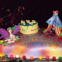 Carnival Fairy Cake Birthday girl who dressed up like a Fairy, wanted a carnival theme with a Fairy, duck pond & Fortune Teller with an 8 ball! Another fun...