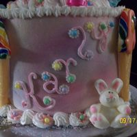 Ice Cream Cone Cake Found these cute lollipop ice cream cones and attatched to my nieces 6th birthday cake along with 4 others for her brother and sisters....