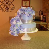 Wedding Shower Cake Cake for a couples wedding shower.