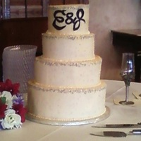 Ivory Buttercream, Silver Dragees