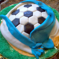 Soccer Cake I am a South African expat and feeling very depressed at not being able to be in my country during this exciting time of the soccer world...