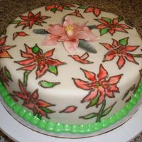 Poinsettia Cake Made for my family this Christmas, it's butter cake with raspberry buttercream filling. This is my version of a Collette Cake, but I...