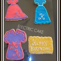 Hpim1050A.jpg NFSC/Antonia's Icing. Dress cookies I made for my DS's teachers birthday. I used her first initial. They were a suprise because...