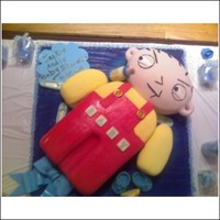 Stewie Baby Shower Cake   Stewie baby shower cake by picture perfect cake studio