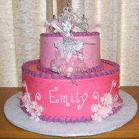 Emily's Fancy Nancy Cake  Emily insisted that her cake colors needed to be pink and fushia. She loved her cake and told everyone at her party that her friend Judy...