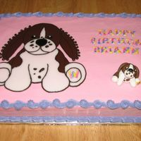 Webkinz My daughter's friend wanted her dog (a brittany spaniel) to be made into a Webkinz and put on her birthday cake. The little one was...