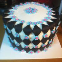 Birthday! WASC with buttercream and fondant accents