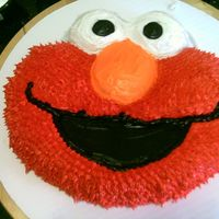 Elmo I made this for my daughter's 4th birthday
