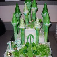 Lebrechaun Castle   This is the cake my daughter wanted for her birthda LOL