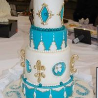 Wedding Cake For A Competition.