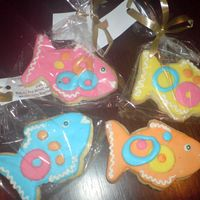 End Of Year Cookies For My Son's Kindergarten Class NFSC with MMF and royal icing decorations inspired by cookies from the flourpot cookbook