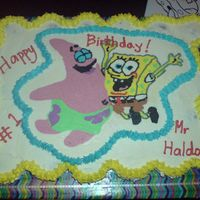 Spongebob And Patrick Ccc IMBC on Crusting CC. Made for my son's 1st grade teacher who's a Spongebob fanatic. We love the teacher and luckily he loved his...