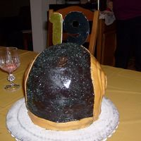 Daft Punk My fist 3D cake for my son,
