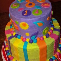 Whimsical Stripes And Dots stripes and dots for a 14th birthday party